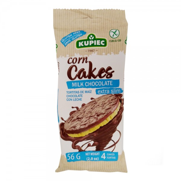 CORN CAKES MILK CHOCOLATE