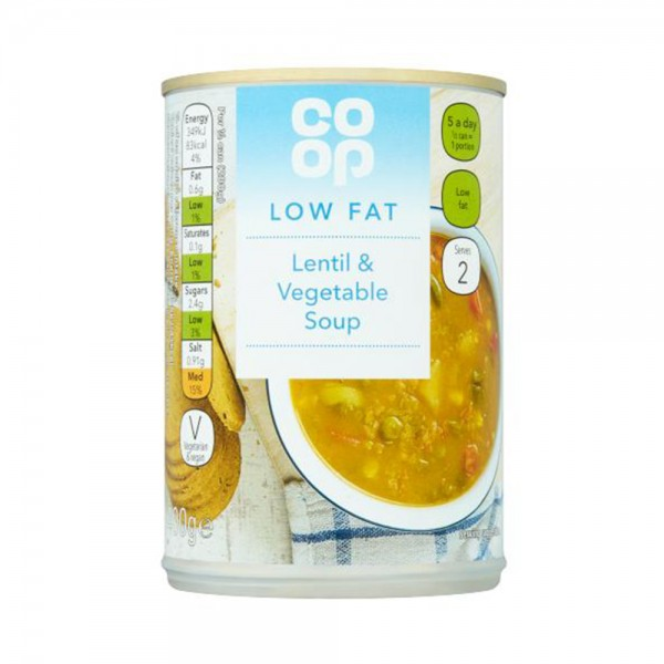 HEALTHY LENTIL AND VEGETABLE SOUP