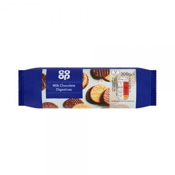 MILK CHOCOLATE DIGESTIVE BISCUITS