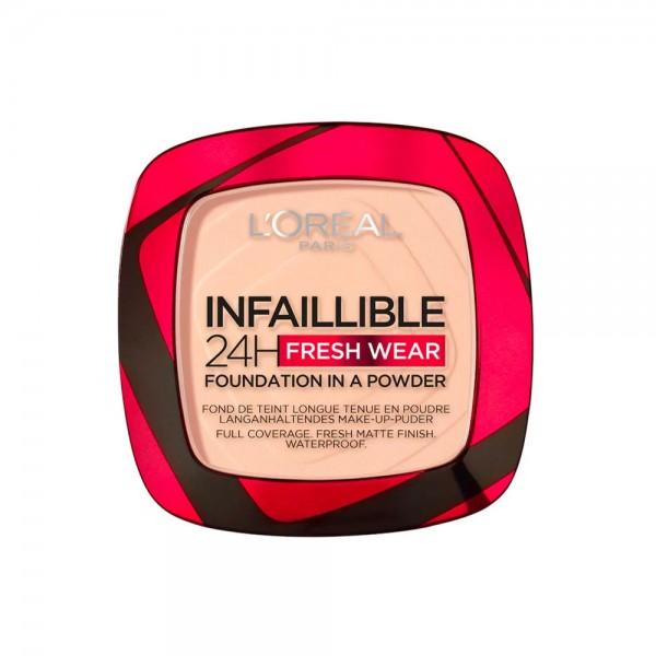 L'Oreal Paris  - 24H FreshWear Foundation in a Powder 180