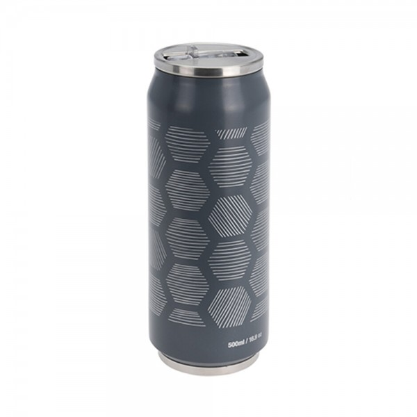 FLASK METAL DOUBLE WALL MIXED COLOR