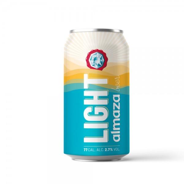 Almaza Light Beer Can 33cl