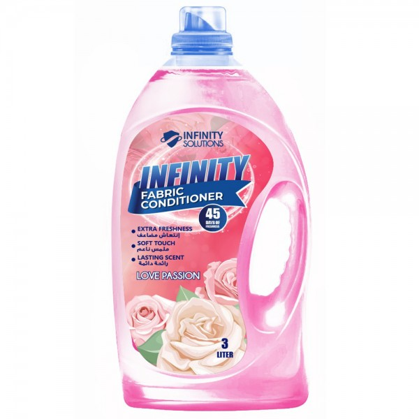 INFINITY Fabric Conditioner Pink 3L