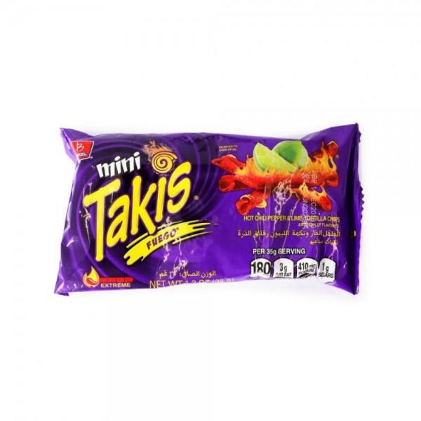 Takis Mini Hot Chips 35g