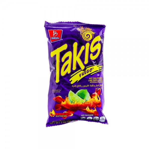 Takis Hot Chili Chips 56g
