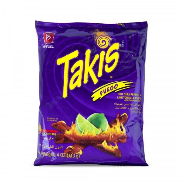 Takis Hot Chili Chips 113g