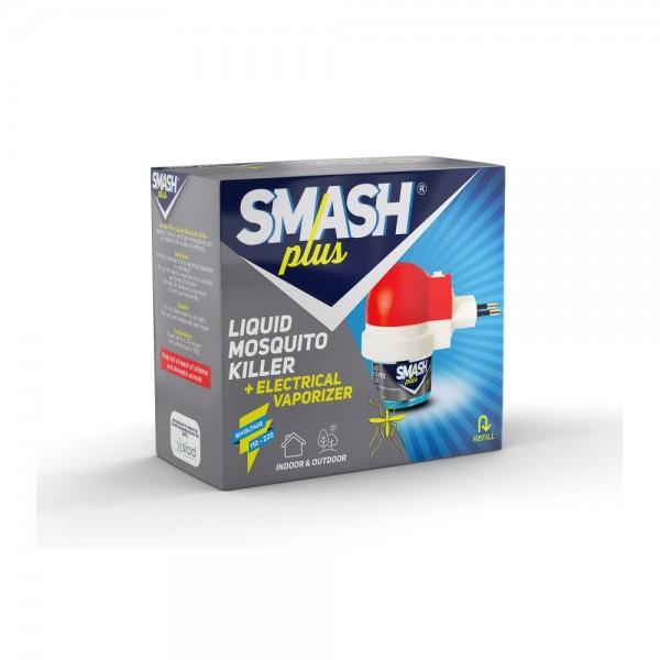 Smash Plus Liquid Mosquito Killer + Electrical Vaporizer