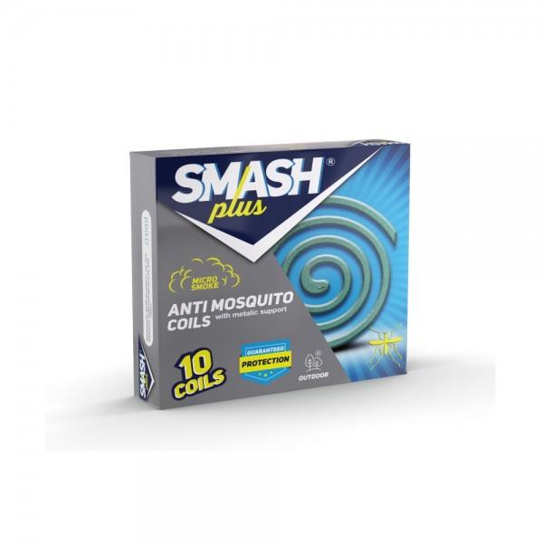 Smash Plus Anti Mosquito Coils 10pc