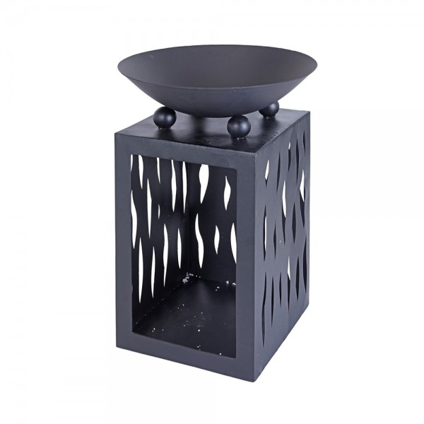 FIRE BOWL METAL WITH STORAGE
