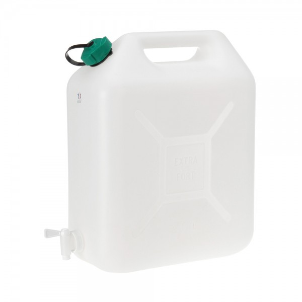 JERRYCAN WHITE FOR WATER