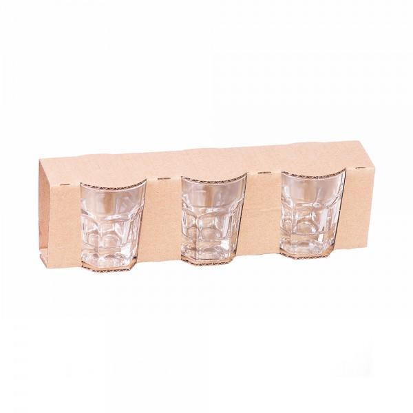 GLASS CUP SET 6CL