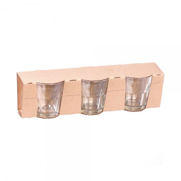 GLASS CUP SET 12.5CL
