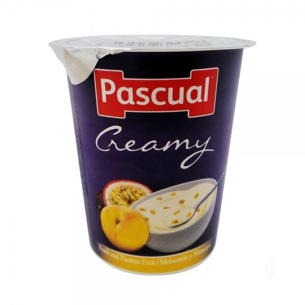 Pascual Creamy Peach & Passion Fruit