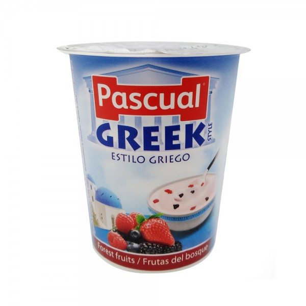Pascual Greek Style Forest Fruit Yogurt