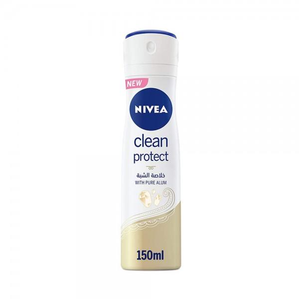 WOMEN DEO CLEAN PROTECT ANTI-PERSPIRANT +PURE ALUM