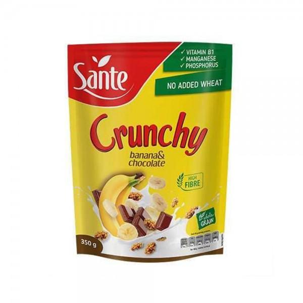 CRUNCHY BANANA WITH CHOCOLATE