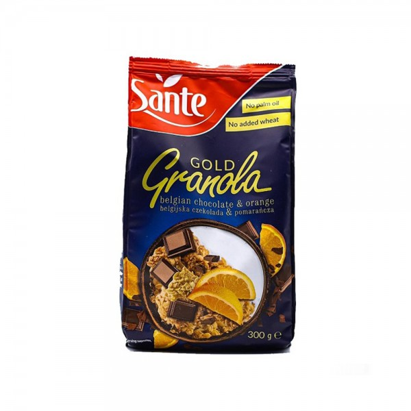 GRANOLA GOLD W/ CHOC AND ORANGE