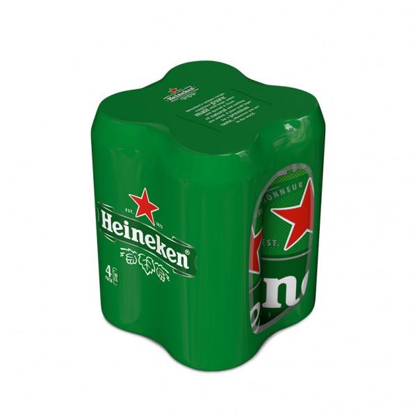 Heineken Larger Beer Can - 500Ml