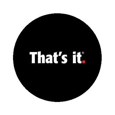 That's It